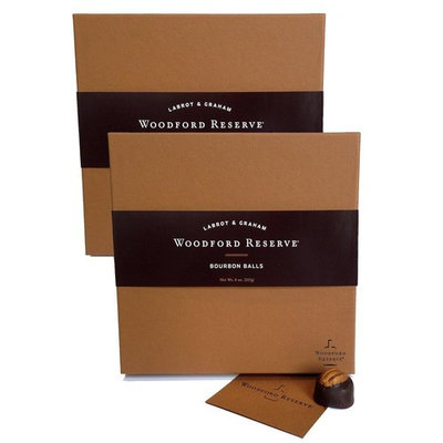 Woodford Reserve 16-Piece Bourbon Ball Box: Two-Pack