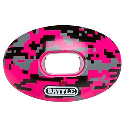 Battle Sports Oxygen Mouthguard Pink Camo