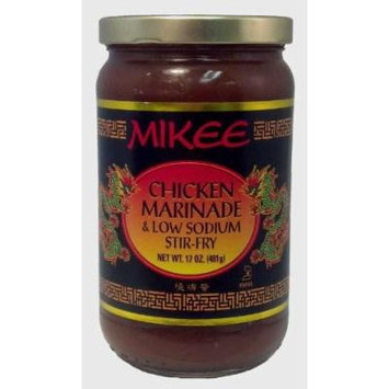 Mikee Chicken Marinade & Low Sodium Stir-Fry- 17oz.