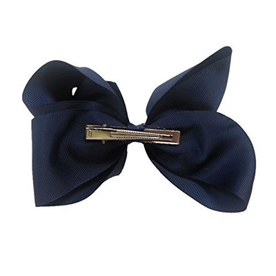 CoverYourHair Hair Bows - 25 Pc Set - Hair Bow with Alligator Clip - Hair Bows 5 Inch - Boutique Bows for Girls