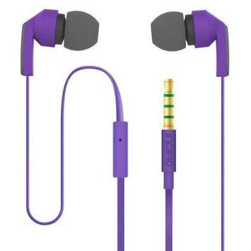 Incipio Incipio - F80 Hi-fi Earbud Headphones - Purple/gray