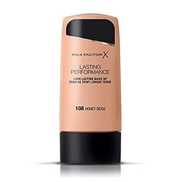 Max Factor Lasting Performance Foundation - 108 Honey Beige + FREE Schick Slim Twin ST for Dry Skin
