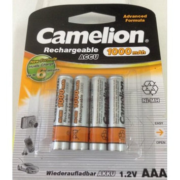 Camelion Advanced Formula AAA Rechargeable NiMH Batteries 1000mAh 8 Pack Retail + FREE SHIPPING!