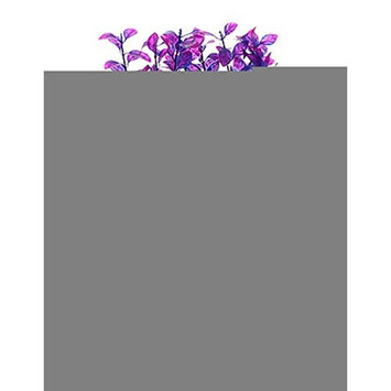 Viskey Fish Tank Aquarium Ornament Purple Plants, Pack of 2 pcs