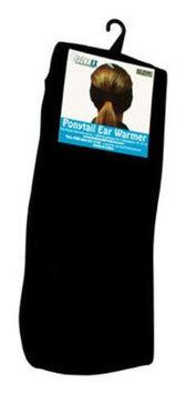 Hot Headz Black Pony Tail Ear Warmer (W-PEX-PON-100)