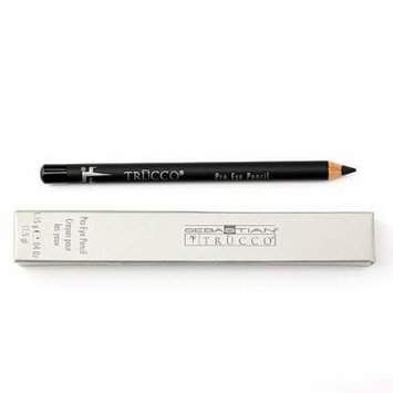 Trucco Pro Eye Pencil, Black Suede