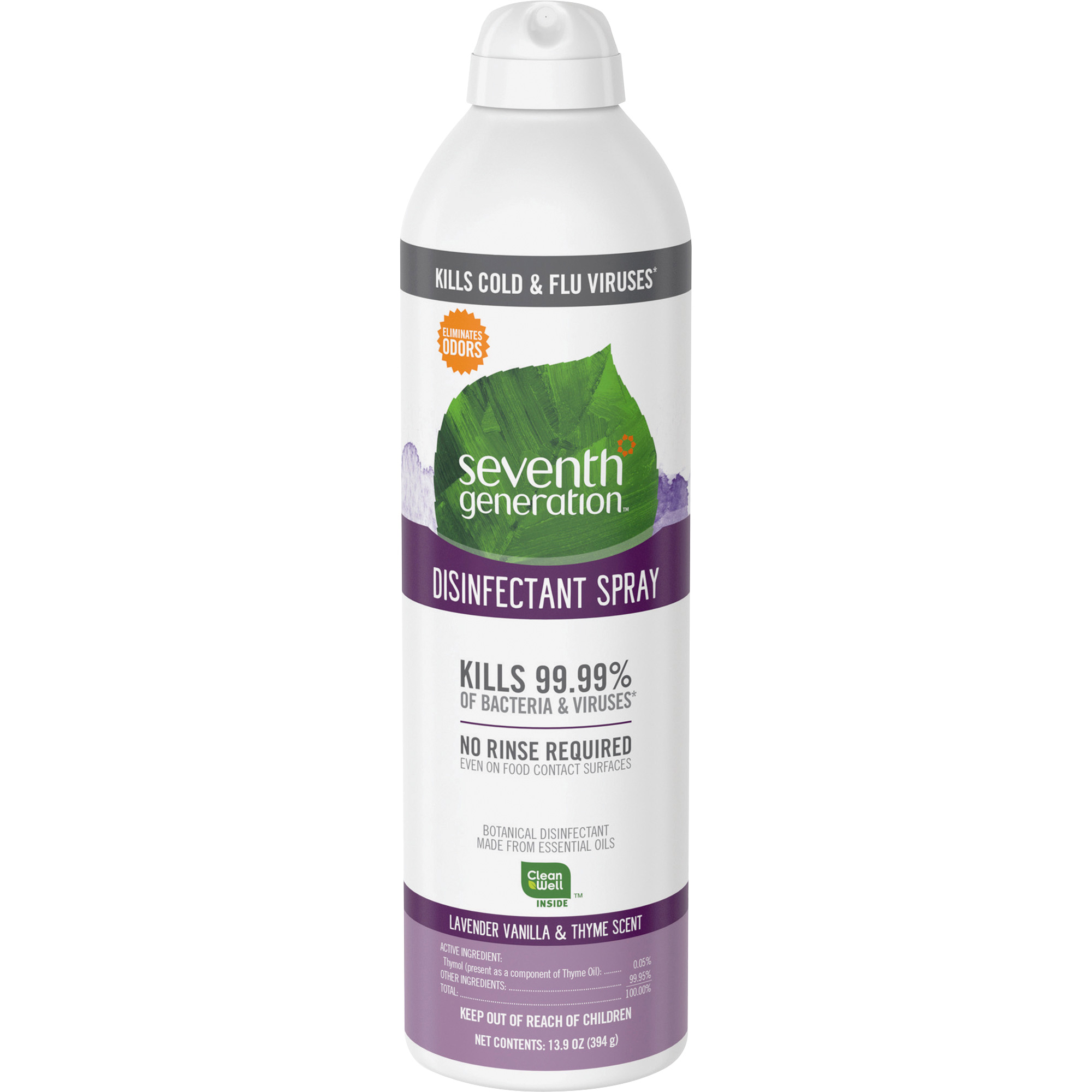 Seventh Generation Lavender Vanilla & Thyme Disinfectant Spray