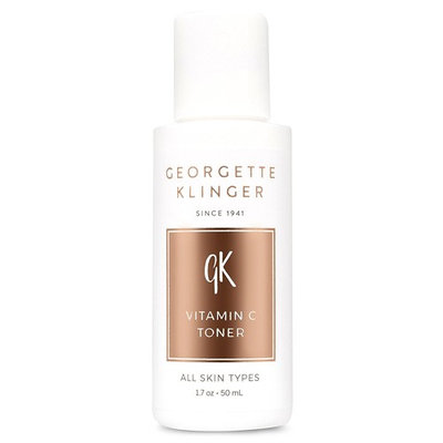 Vitamin C Face Toner By Georgette Klinger - Brightens Skin, Fades Damage from Sun, Aging & Acne - 50ml