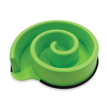 Spot Ethical Products Spot Ethical Animal Instincts Slow Feed Bowl 10in Green