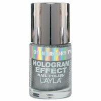 Layla Hologram Effect Nail Polish, Mercury Twilight, 1.9 Ounce