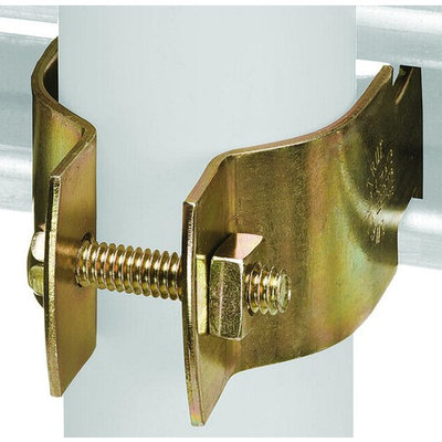 Superstrut Z703 1 1/2-10 Universal Pipe Clamp, 1-1/2 in, Steel