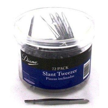 Diane Slant Tip Tweezer 72 count