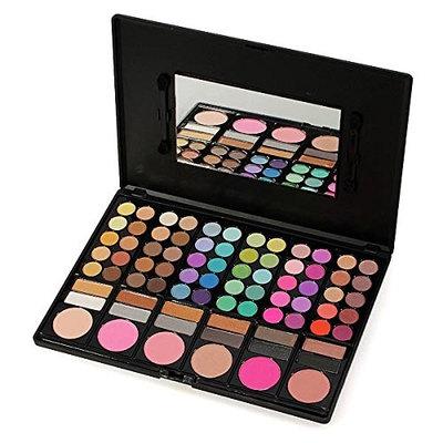 ISALI 78 Color Makeup Eyeshadow Blush Palette Set