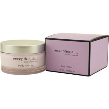 Exceptional-Because You Are by Exceptional Parfums for Women. Body Cream 7-Ounces