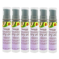 (6 PACK) Naturals By HASK Weightless Dry Oil 0.5oz (Strengthening): Beauty