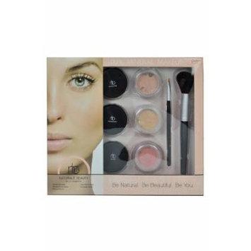 Natural Beauty 100% Pure Mineral Makeup Kit - Light