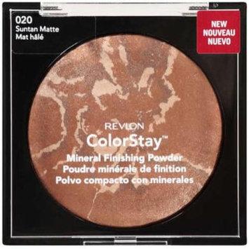 Revlon Colorstay Mineral Finishing Powder, Suntan Matte (020)