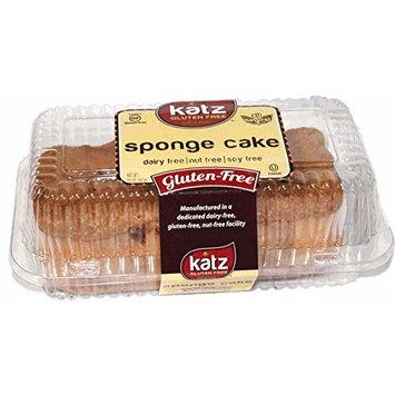 Katz Gluten Free Sponge Cake   Dairy, Nut, Soy and Gluten Free   Kosher (6 Packs of 1 Loaf, 12 Ounce Each)