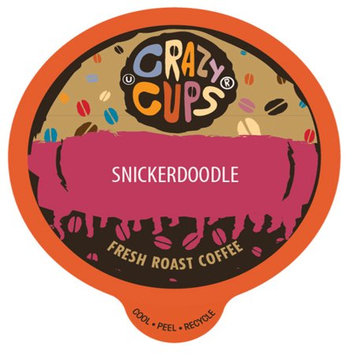 Crazy Cups Flavored Coffee, for the Keurig K Cups 2.0 Brewer, Snickerdoodle, 22 Count