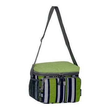 Everest Cooler/Lunch Bag Lime/Navy Stripe - Everest Travel Coolers
