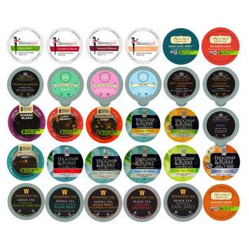 Ssbd Tea Single Serve Cups for Keurig K Cup Brewer Variety Pack Sampler, 30 Count