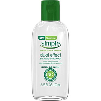 Simple Kind to Skin Dual Effect Eye Makeup Remover 3.38 oz (10 Pack)