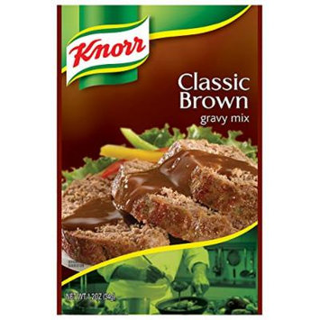 Knorr Gravy Mix, Classic Brown 1.2 oz, Pack of 24