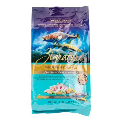 Zignature LID Whitefish Formula Dry Dog Food, 4 Lb