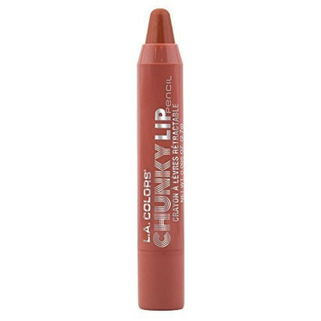 L.A. Colors Chunky Lip Pencil, Creme Brulee, 0.04 Ounce by Beauty 21 Cosmetics
