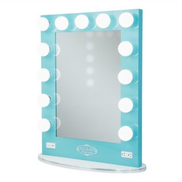 Vanity Girl Hollywood Broadway Lighted Vanity Mirror [finish-teal]