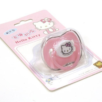 Sanrio Hello Kitty Baby Pacifier Pink For Baby Girl (Comes with Cover)