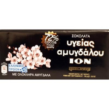 Extra Cacao 72% Dark Chocolate with Whole Almonds 3pcsx100g