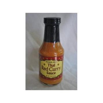 Trader Joe's Thai Red Curry Sauce 11 Ounce (Pack of 6)