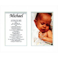 Townsend FN03Ronnie Personalized Matted Frame With The Name & Its Meaning - Ronnie