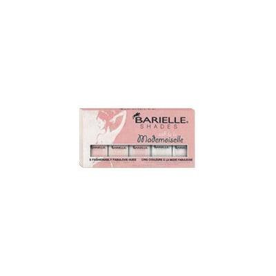 Barielle Mademoiselle Nail Polish, Five Various Shades, 2.25 Ounce