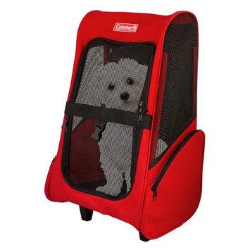 Unique Petz Coleman Pet Trolley Carrier, Red