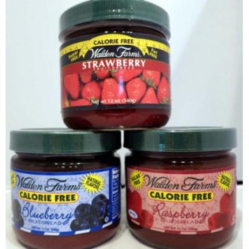 Walden Farms Fruit Spread Variety Calorie Free - Bluberry, Strawberry, And Raspberry