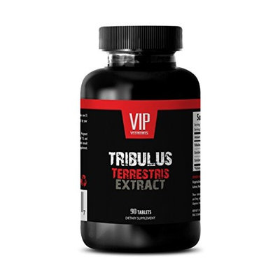 Testosterone booster - TRIBULUS TERRESTRIS PREMIUM EXTRACT 1000mg - Tribulus - 1 Bottle 90 Tablets