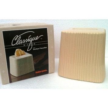 1960's Vintage Ceramic BOUTIQUE TISSUE BOX Classique Bath RUBBER QUEEN