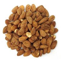 Organic Living Superfoods salt-vin-alm-S Raw Sprouted Salt & Vinegar Almonds - Pack of 12