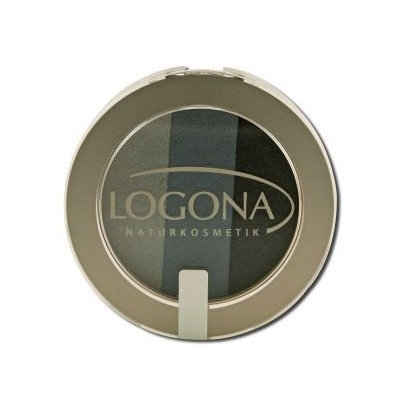 Logona - Eyeshadow Trio 01 Smokey - 4 Grams