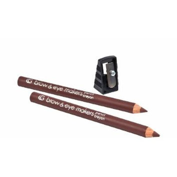Covergirl Brow and Eye Makers Pencil, 525 Hen Brown (4 Pencils)