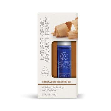 Nature's Bounty Nature's Origin Aromatherapy Essential Oil, Cedarwood, 15 ml