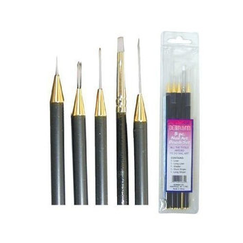 Debra Lynn 5 Piece Nail Art Brush Set