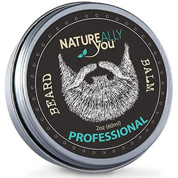 NATUREALLY YOU© - Beard Balm - The Professional Scent - (2 oz) - Condition, Smooth, Soften, Tame, Remove Beard Itch