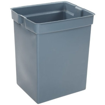 Rubbermaid Commercial Glutton Recycle Bin Liner, 42 Gallon, Gray, FG256K00GRAY