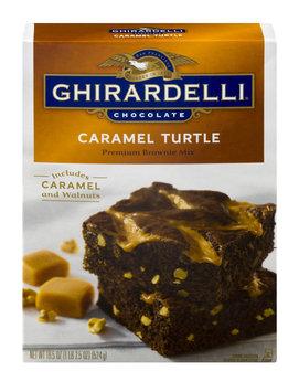 Ghirardelli Chocolate Caramel Turtle Premium Brownie Mix