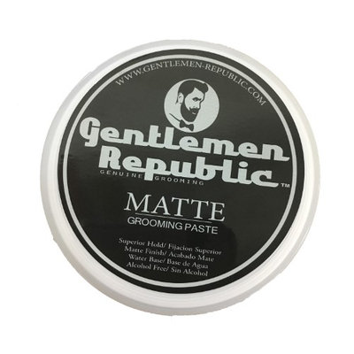 Gentlemen Republic Matte Grooming Paste Genuine Grooming for Men - 8 oz
