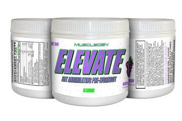 Musclegen Research Elevate Pre-Workout Powder, Grape Infusion, 5.29 Oz