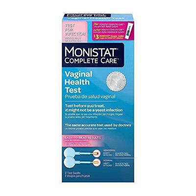 Monistat Complete Care Vaginal Health Test, 2 Test Swabs Each (2)